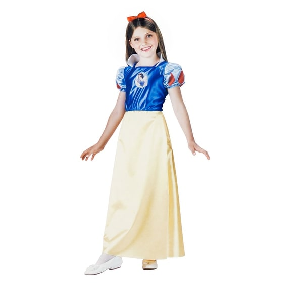 Disney Princess Snow White Girls Costume Size S (4-6X)