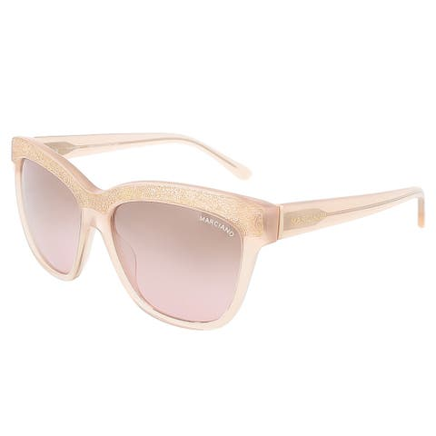 Guess by Marciano GM0729 74F Blush Pink Rectangle sunglasses - 57-15-135