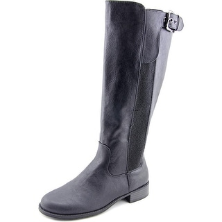 Unlisted Kenneth Cole Spare Star Wide Calf W Round Toe Synthetic Knee High Boot