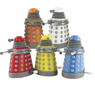 Doctor Who Dalek Wind Up Toys 5-Pack Collector Set - Multi