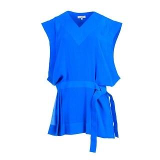 Mugler Womens Party Dress Georgette Sleeveless