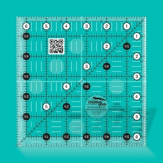 "Link to Creative Grids Quilt Ruler 6-1/2in Square - 6.5"" x 6.5"" x 0.25"" Similar Items in Sewing & Quilting"