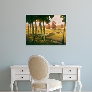 Easy Art Prints Graham Reynolds's 'Morning Light I' Premium Canvas Art