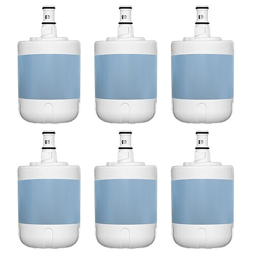 Replacement Whirlpool RS25AFXMQ00 Refrigerator Water Filter (6 Pack)