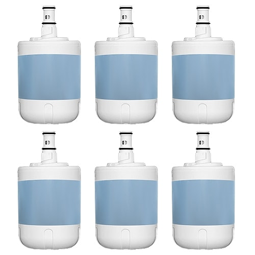 Replacement Whirlpool WSW-4 Refrigerator Water Filter (6 Pack)