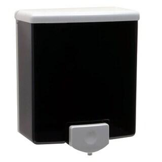Bobrick BOB40 ClassicSeries Surface-Mounted Soap Dispenser 40 oz. Black/Gray