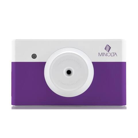 Minolta MNCP10 instapix Instant Print Camera (Purple)
