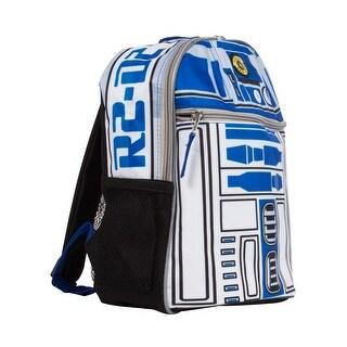 Star Wars R2-D2 12 inch Novelty Mini Backpack - Blue/White