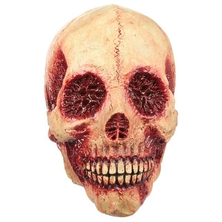 Adult Bloody Skull Costume Mask - Standard - One Size