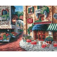 "Taste Of Italy - Paint Works Paint By Number Kit 20""X16"""