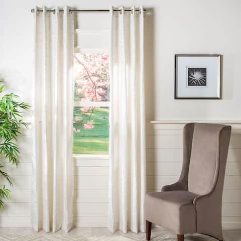 Safavieh Vivi Semi-Sheer Window Curtain Panel