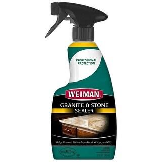 Weiman 82 Granite & Stone Sealer, 12 Oz