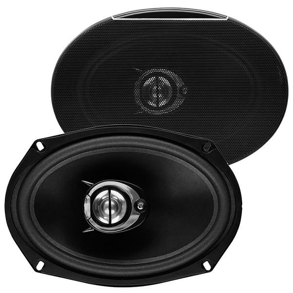 Sound Storm SLQ469 500 Watt (Per Pair), 6 x 9 Inch, Full Range, 4 Way Car Speakers (Sold in Pairs)