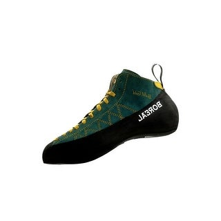 Boreal Climbing Shoes Mens Ballet Gold Leather Black Green 12232