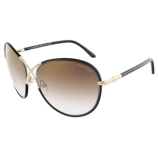 Tom Ford FT0344/S 48G ROSIE Dark Brown Butterfly sunglasses