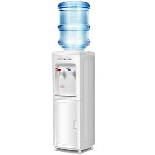 Water Dispenser 5 Gallon Bottle Load Electric Primo Home - White