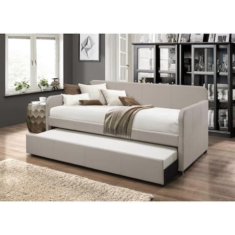 Tiara Upholstered Daybed with Trundle