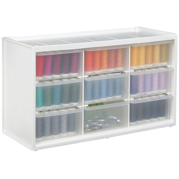 """ArtBin Store-In-Drawer Cabinet-14.375""""X6""""X8.675"""" Translucent"""