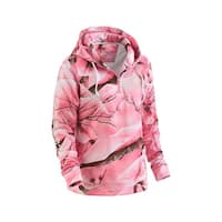 Legendary Whitetails Ladies Camo Power Quarter Zip Hoodie