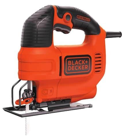 Black & Decker BDEJS300C Variable Speed Jig Saw, 4.5 Amp, 45 Degrees Bevel Stops