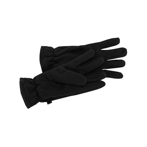 Men's Black Fleece Glove for Winter