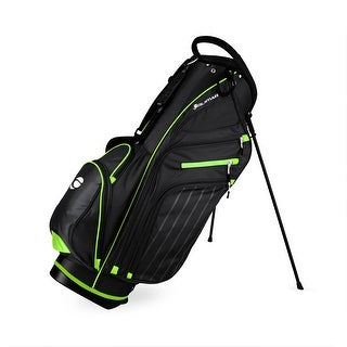 Link to Orlimar SRX 14.9 Golf Stand Bag Black/Green Similar Items in Golf Bags & Carts
