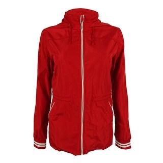 Tommy Hilfiger Women's Drawstring Hooded Jacket - formula one