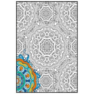 "Joy Of Coloring Adult Coloring Poster 24""X36"" 1/Pkg-Mandala"