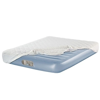 Aerobed 2000010614 Commercial Twin Inflatable Mattress Airbed w Built in Pump - Blue
