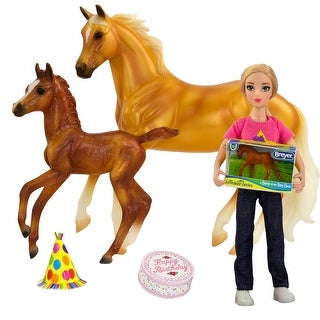 Link to Breyer Classics Freedom Series Birthday at the Barn Horse Activity 5 Piece Set 1 12 Scale Similar Items in Action Figures