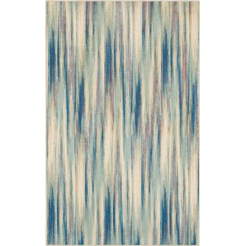 Mohawk Home Kearney Contemporary Abstract Striped Area Rug