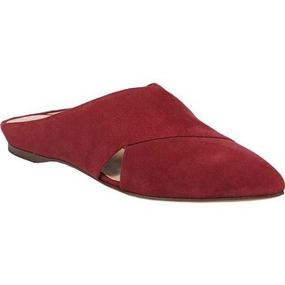Naturalizer Women's Simonette Mule Lush Red Leather