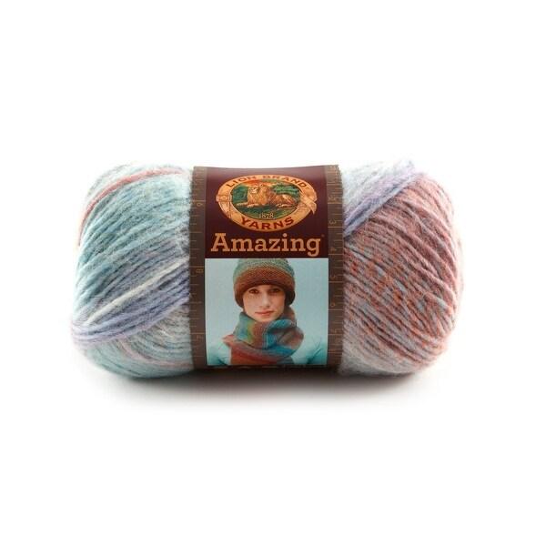 Lion Brand Yarn 825-207 Amazing Yarn, Pink Sands