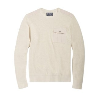 American Rag NEW Beige Oatmeal Mens Size Small S Crewneck Knit Sweater