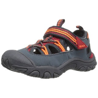 M.A.P. Boys Emmons T-Strap Sport Sandals (Option: Red - 6 m us toddler)