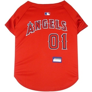 Los Angeles Angels Dog Jersey - Extra Small