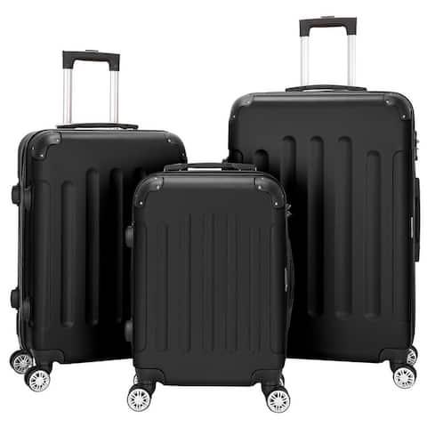 """3-piece ABS Lightweight Spinner Suitcase Set (20"""" / 24"""" / 28"""")"""
