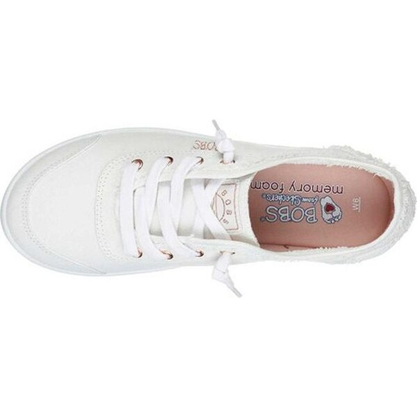 skechers bobs white shoes