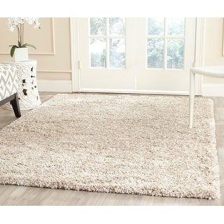 Link to Safavieh New York Shag Ruslana Solid Rug Similar Items in Shag Rugs