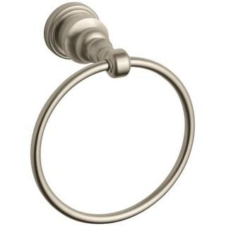 Kohler K-6817 Renaissance Elegance Towel Ring from IV Georges Brass Collection