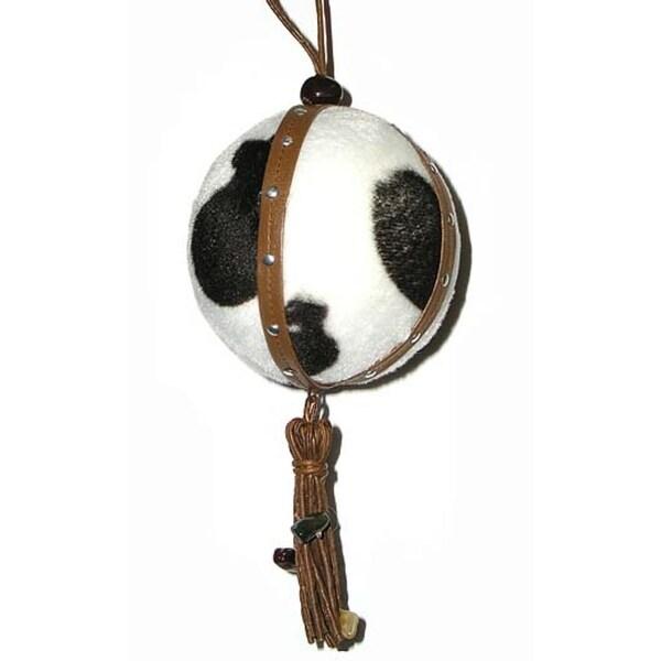 "7"" Pony Ball Tassel Christmas Ornament"