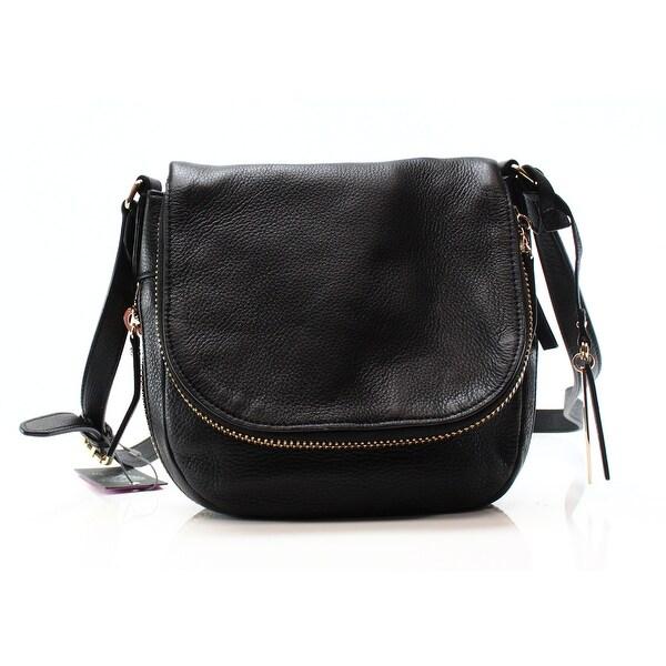 6e0eefcc2cd Shop Vince Camuto NEW Black Pebble Leather Bailey Cross Body Bag ...