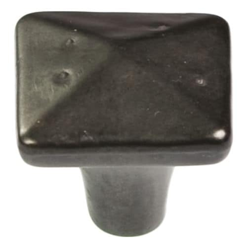Hickory Hardware P3670 Carbonite 1-1/4 Inch Square Cabinet Knob