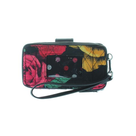 Vera Bradley Womens Wristlet Wallet Quilted RFID - Small