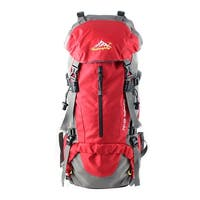 Unique Bargains HWJIANFENG Authorized Trekking Climbing Pack Sport Bag Hiking Backpack Red 50L