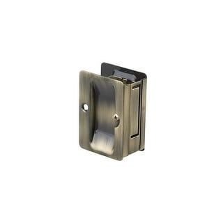 """Richelieu 1700-PSBC  3-1/4"""" x 2-1/4"""" Flush Rectangular Passage Pocket Door Pull"""