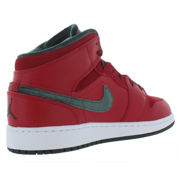 Mid Prem Basketball Shoes Suede