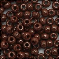 Toho Round Seed Beads 6/0 46 'Opaque Oxblood' 8 Gram Tube