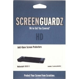 ScreenGuardz HD Anti Glare Screen Protector for Motorola Droid X MB810, Droid X2