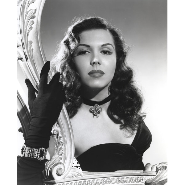 Shop Ann Miller Wearing A Choker In A Classic Portrait